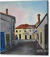 Street View From Kavran Canvas Print