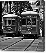 Streetcars New Orleans Canvas Print