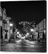 Streets Before Christmas Canvas Print