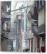 Streets Of China Canvas Print