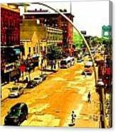 Streets Of Gold Canvas Print