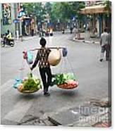 Streets Of Hanoi Canvas Print