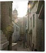 Streets Of Leh Canvas Print