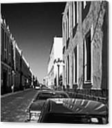 Streets Of Puebla 8 Canvas Print