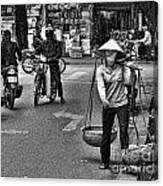Streets Of Saigon Canvas Print
