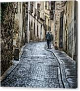 Streets Of Segovia Canvas Print