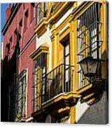 Streets Of Sevilla Canvas Print