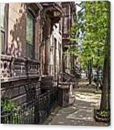 Streets Of Troy New York Canvas Print