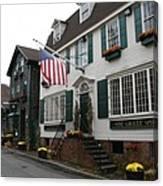 Streetscene Newport  -  Rhode Island Canvas Print
