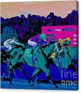 Stretch Run Canvas Print