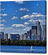 Striking Toronto Skyline Canvas Print