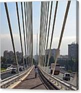 String Bridge In Seville Andalucia Canvas Print