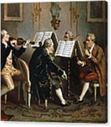 String Quartet Canvas Print