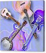 Stringed Instruments Canvas Print