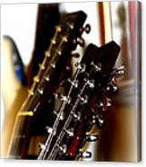 Strings Galore - Guitar Canvas Print