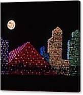 Strip Series - City Canvas Print