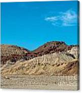 Striped Mountain Canvas Print