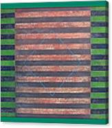 Striped Triptych No.5.03 Canvas Print