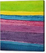 Stripes Original Painting Canvas Print