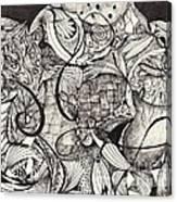 Stroke Of Midnight Canvas Print