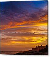 Strokes Of Sunset I Canvas Print
