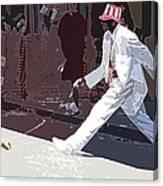 Strolling On Bourbon Street Canvas Print