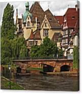 Strolling Through Strasbourg Canvas Print