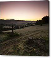 Stroud Sunrise Canvas Print