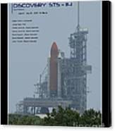 Sts-114 Discovery Canvas Print
