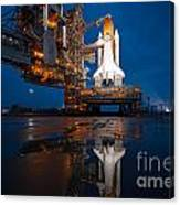 Sts 135 Atlantis Prelaunch Canvas Print
