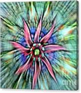 Sttained Glass Window Canvas Print