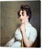 Stuart's Eleanor Parke Custis Lewis Or Mrs. Lawrence Lewis Canvas Print