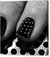 Studded Canvas Print