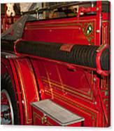 Studebaker Fire Truck Canvas Print