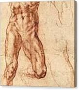 Studies For Haman Canvas Print