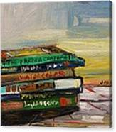 Studio Books Canvas Print