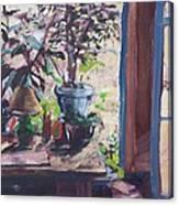 Studio Window Canvas Print
