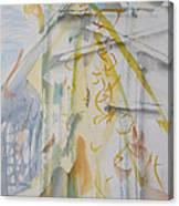 Studio With Kayoko Bird Canvas Print