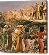 Study For The Execution Of The Twenty Six Baku Commissars Canvas Print