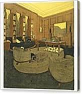 Study, From Repertoire Of Modern Taste Canvas Print