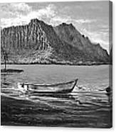 Study- Kaneohe Bay Early Morn 1 Canvas Print