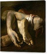Study Of Feet And Hands, C.1818-19 Oil On Canvas Canvas Print
