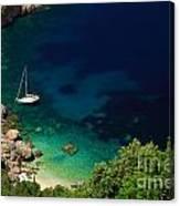 Stunning Beach Kefalonia Canvas Print