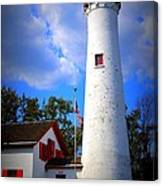 Sturgeon Point Lighthouse Michigan Canvas Print
