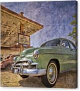 Stylish Chevy Canvas Print