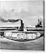 Submarine 'holland,' 1898 Canvas Print