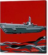 Submarine Sandwhich Canvas Print
