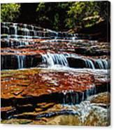 Subway Falls Canvas Print