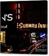 Subway Inn Bar - Vanishing Places Of New York Canvas Print