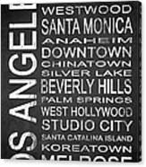 Subway Los Angeles 1 Canvas Print